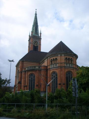 Романский собор в Дюссельдорфе
