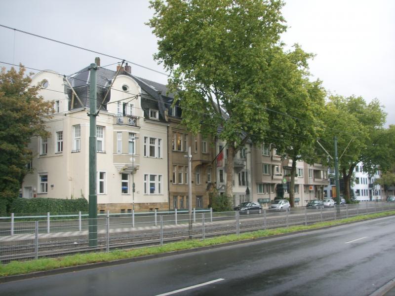 фасады зданий в г. Дюссельдорф
