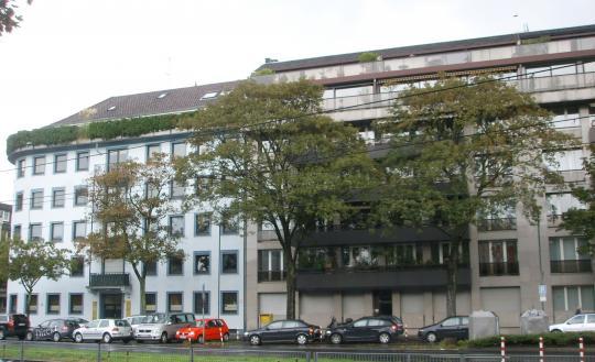 Здание в г. Дюссельдорфе