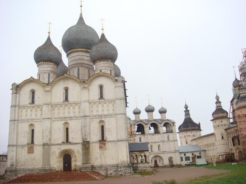 Успенский собор Ростовского Кремля. 1512 г. Ростов Великий