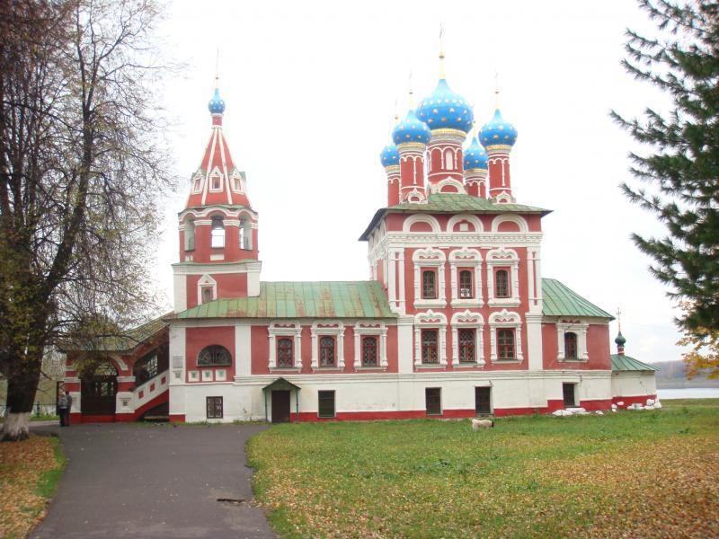 Церковь Димитрия на Крови 1692 г. Углич