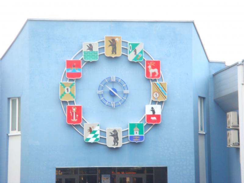 Автовокзал Ярославля (часы)