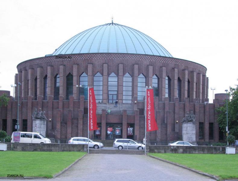 Концертный зал Тонхалле, Дюссельдорф