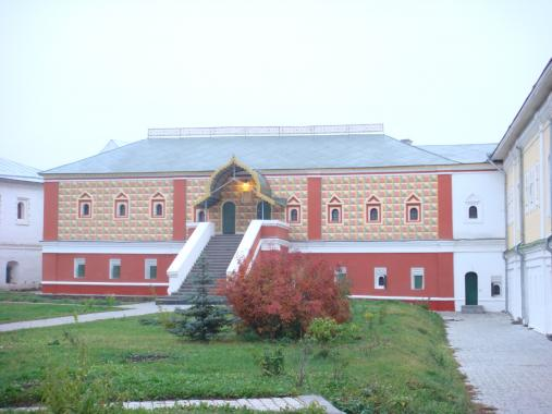 Палаты Ипатьевского монастыря. XVI в. Кострома.
