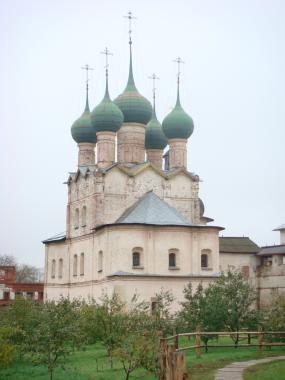 Церковь Григория Богослова 1683 г. Ростов Великий