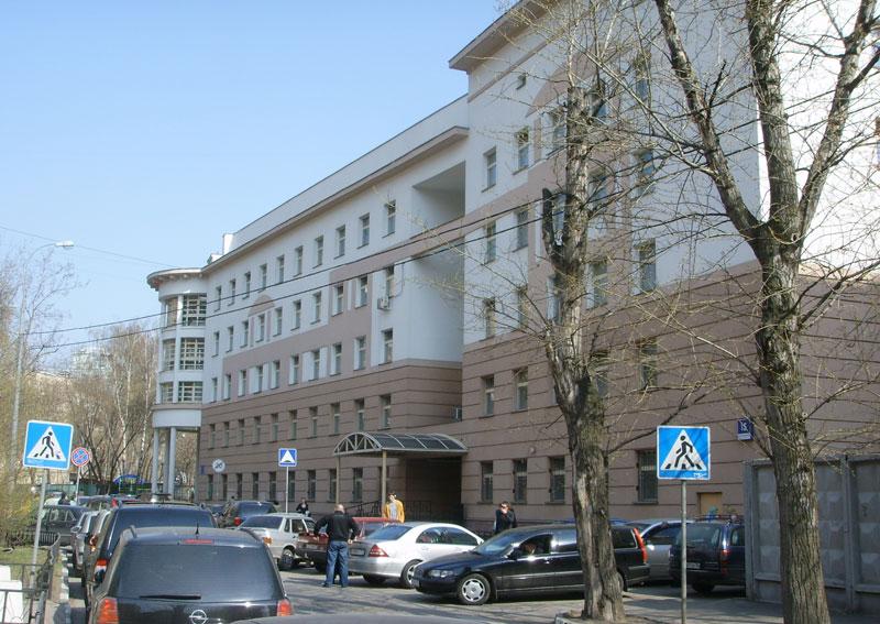 Здание детской клинической больницы им. Филатова