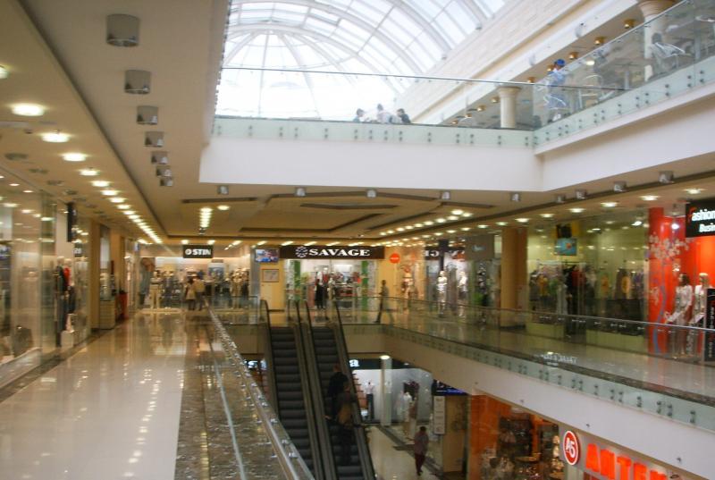 """интерьер торгового центра """"Наш гипермаркет"""""""