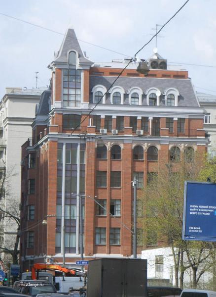 офисное здание в стиле модерн, Москва ул. 2-ая Брестская дом
