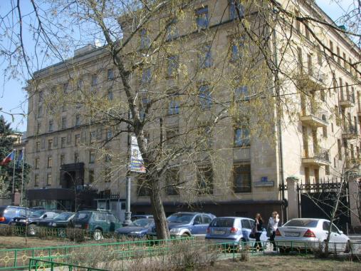 Здание чешского посольства