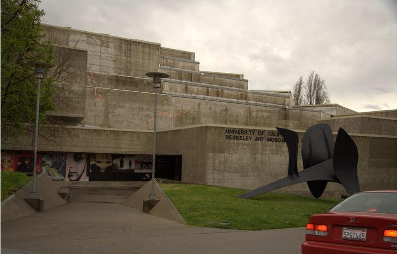 Художественный музей калифорнийского университета -архитекто