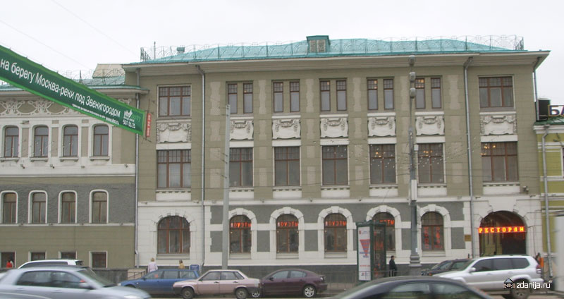 Здание в стиле классицизм на Садово-Кудринской