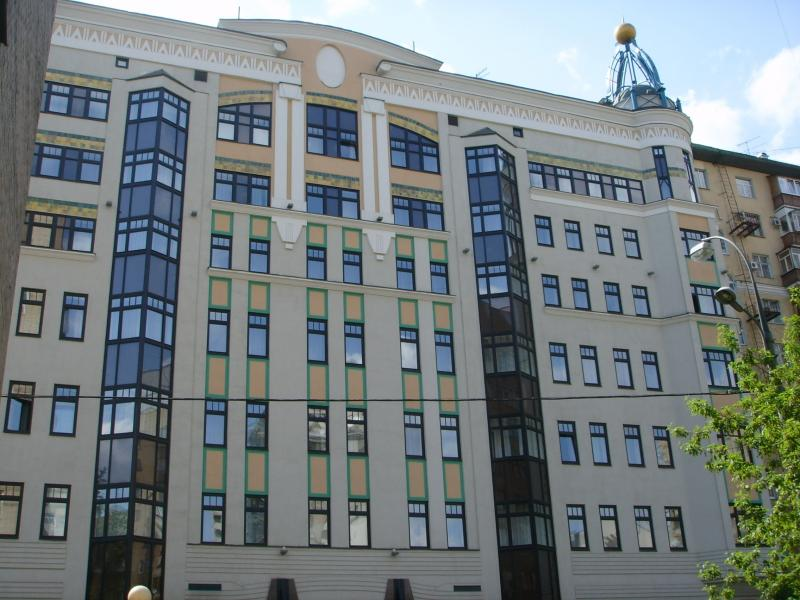 Фасад отелея Мариотт