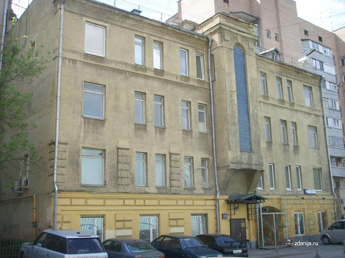 Здание в стиле классицизм в центре Москвы ( Москва, ул. 2-ая Тверская-Ямская, дом. 29 )
