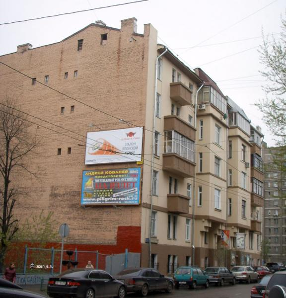 жилое здание на ул. 2-ая Тверская-Ямская, дом 12