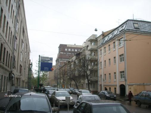 Здания по 2-ому Тврескому-Ямскому переулку