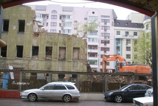 Смерть здания.. снос