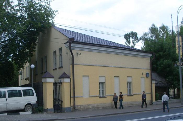 ул. Таганская, дом 13, г. Москва
