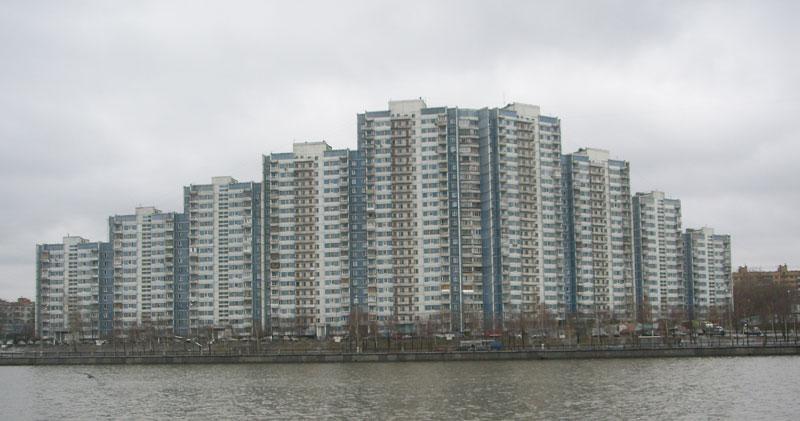 дом на набережной Москвы-реки, Нагатинская набережая , дом 54