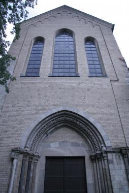 Романский собор в Кёльне ( портал )