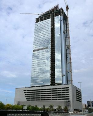 небоскрёб < ААМ башня > - строительство 3 ноября  2007 г.