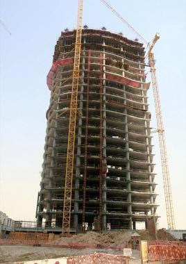 Небосркёб AG тауэр ( ОАЭ Дубаи ) - строительство