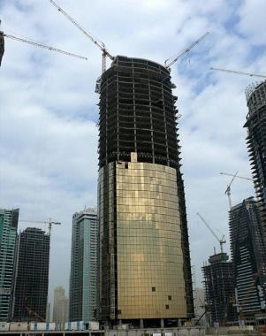 небоскрёб AU тауэр - этап строительства 13 янв 2007 ( ОАЭ Дубаи )