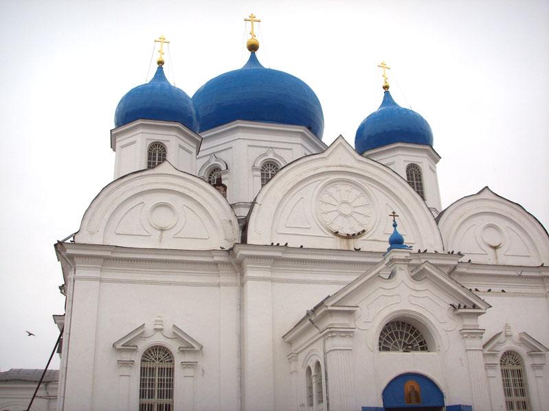 Купола -  Cобор Боголюбовской иконы Богоматери