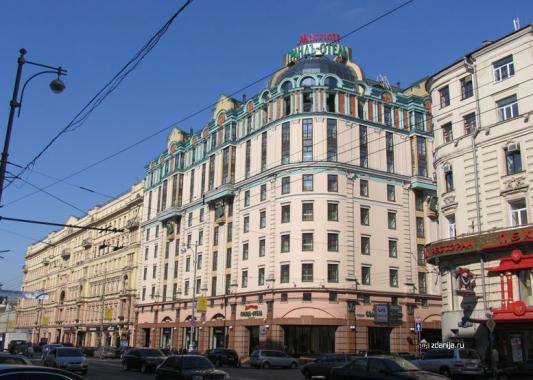 ул тверская, 26/1 - марриотт гранд отель и др. ( marriott grand hotel )