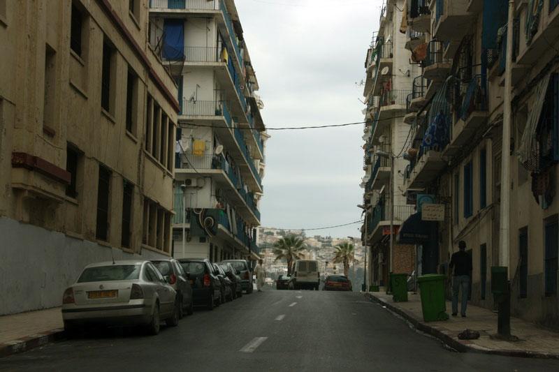 жилой квартал в Алжире