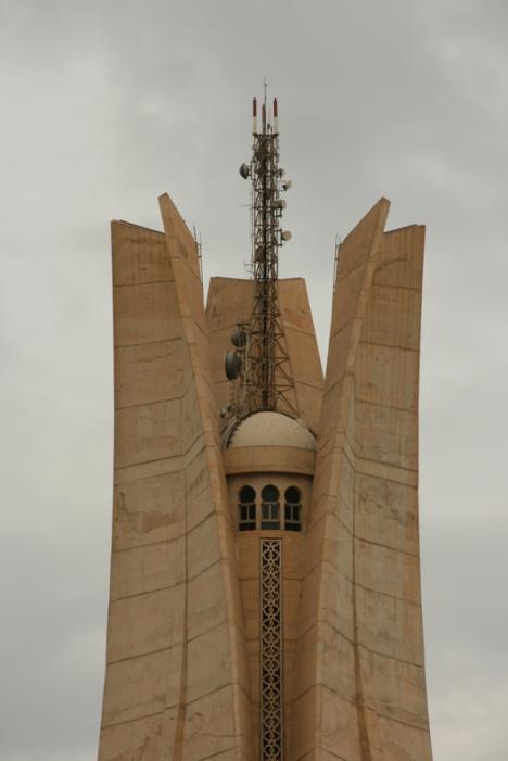 шпиль  Символа независимости Алжира