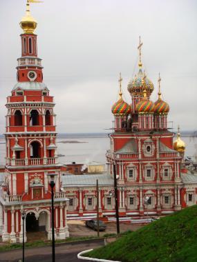 Н.Новгород. Церковь пресвятой богородицы