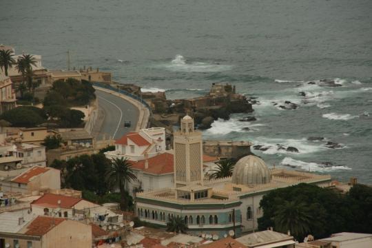Алжир, вид сверху
