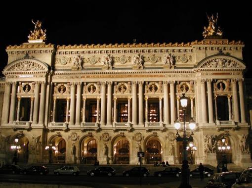 здание оперы, Париж