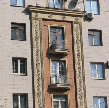 Балконы в  д 6 ул Тверская