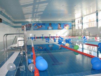 Дворец Спорта в Шатуре - бассейн с ванной для оздоровительного плавания