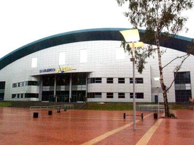 фасад Ледового двореца «Арена Балашиха»
