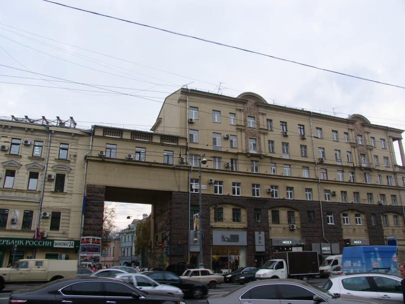 Москва, ул Тверская дом 19