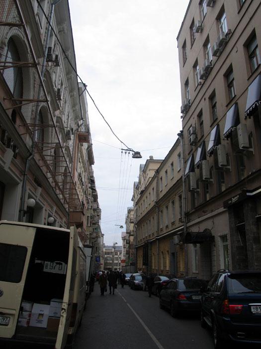 вид на Козихинский  переулок