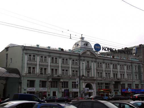 ул Тверская д 3 - театр Ермоловой