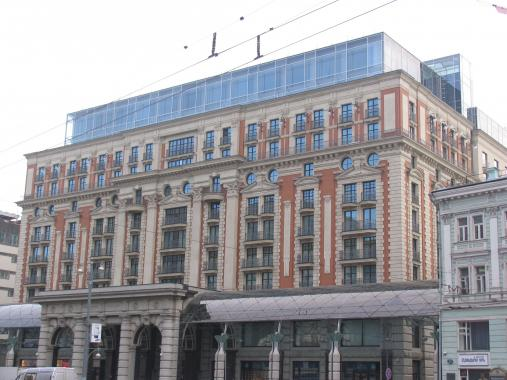 ул Тверская д 3 отель Ритц-Каратон Москва ( The Ritz-Carlton Moscow )