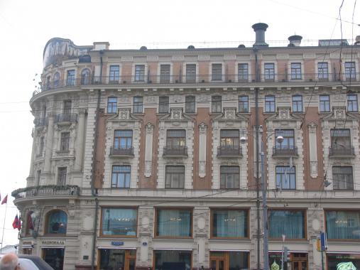 ул Тверская д 1 отель Националь