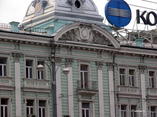 декор фасада ул Тверская д 3