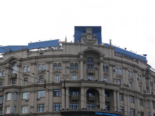 фасад ул Тверская д 9