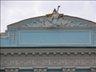 Советский декор на здании...