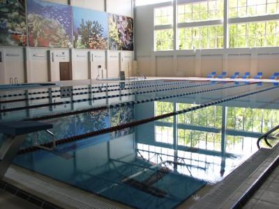интерьер бассейн учебно-тренировочной базы Куркино