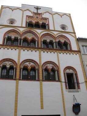здание в Трире, построенное по проекту веницианского архитектора
