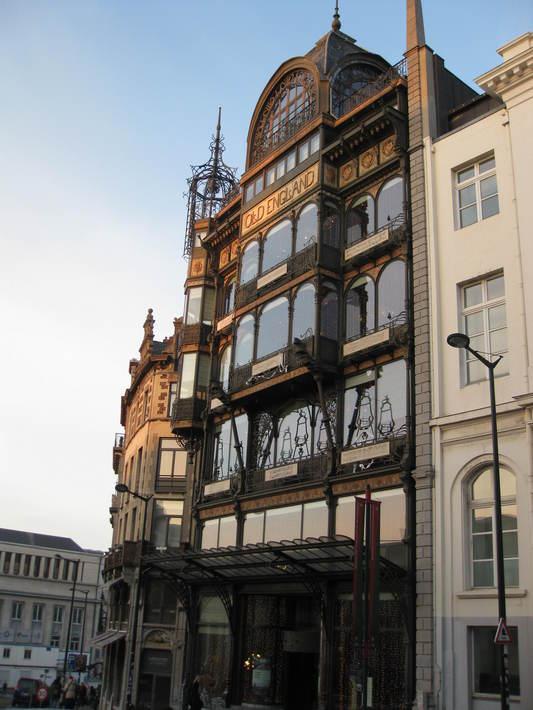 здание в стиле ар-нуво