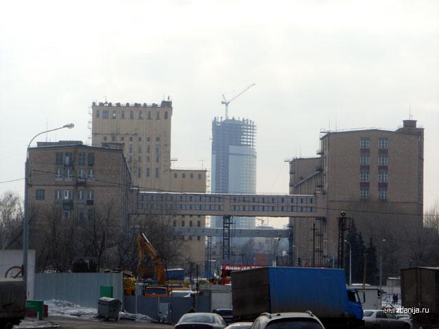 промышленные здания в районе Шелепихинского шоссе