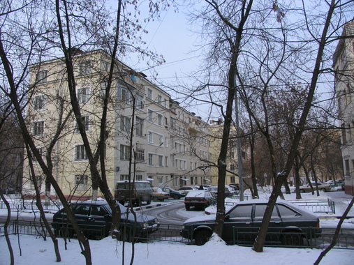 Конструктивистский дом на ул. Мельникова