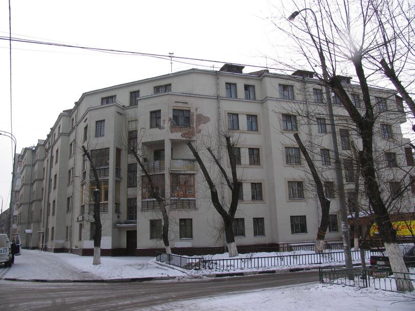 Конструктивистский рабочий дом на ул, Мельникова